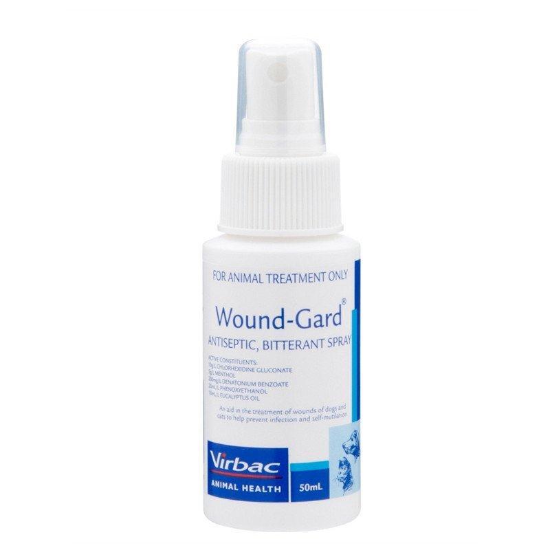 Virbac Wound-Gard Antiseptic Bitterant Spray