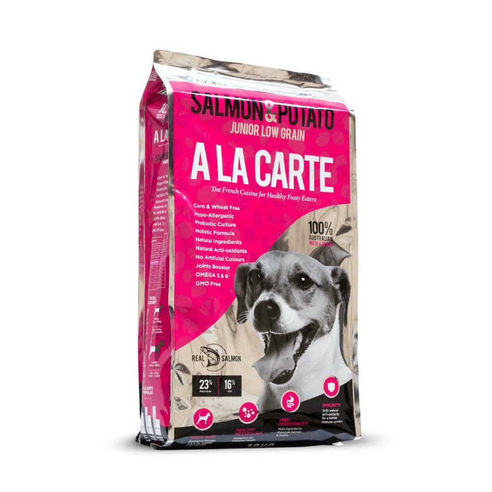 A La Carte Salmon and Potato Junior Low Grain