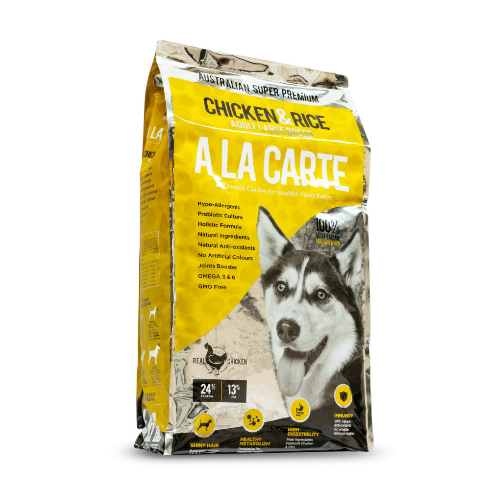 A la Carte Chicken and Rice Adult Large Breed