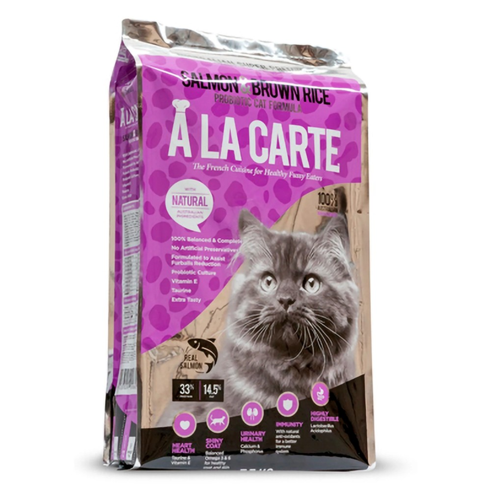 A la Carte Salmon and Brown Rice Cat Food