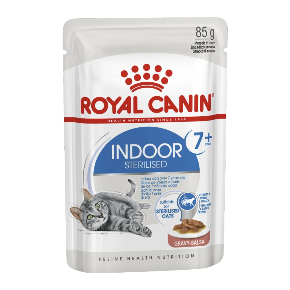Royal Canin Adult Indoor 7+ in Gravy