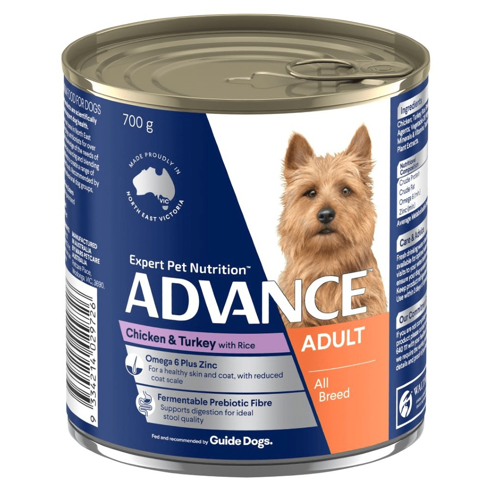 Advance Adult Chicken, Turkey and Rice Cans