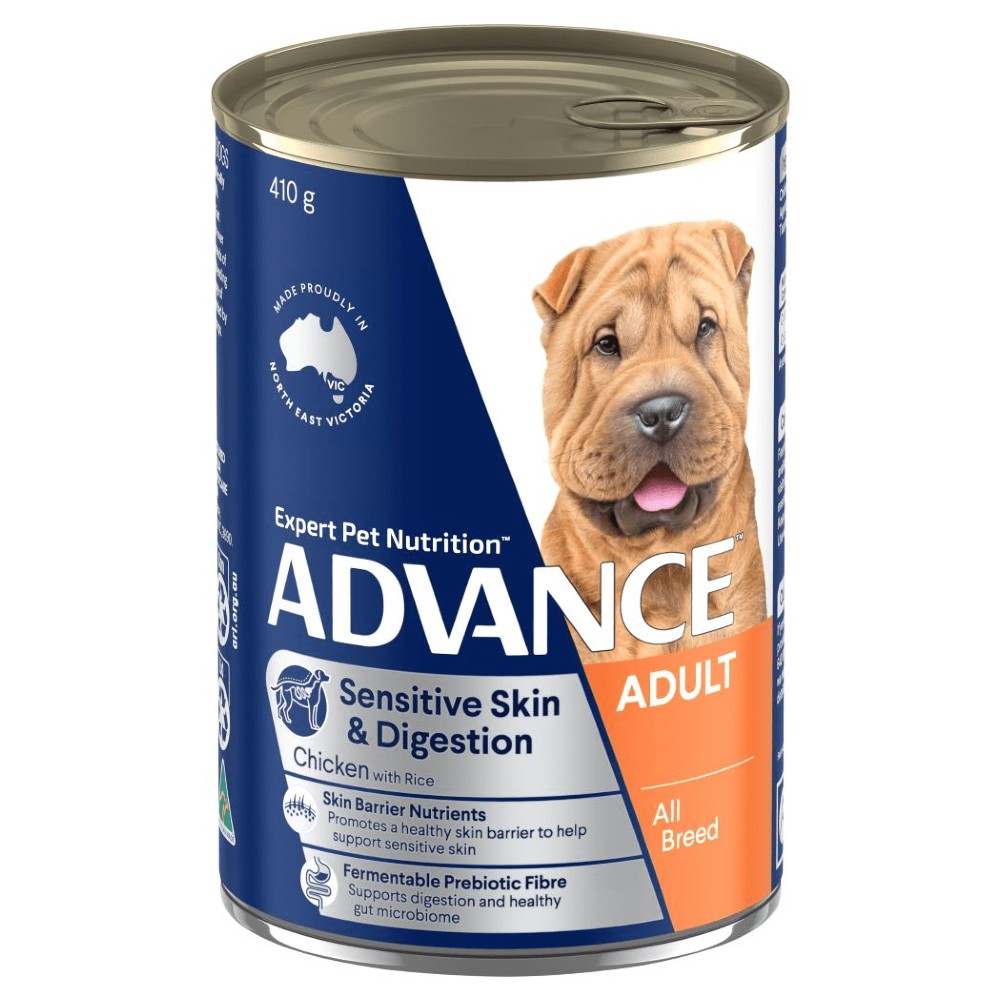 Advance Adult Sensitive Chicken and Rice Cans