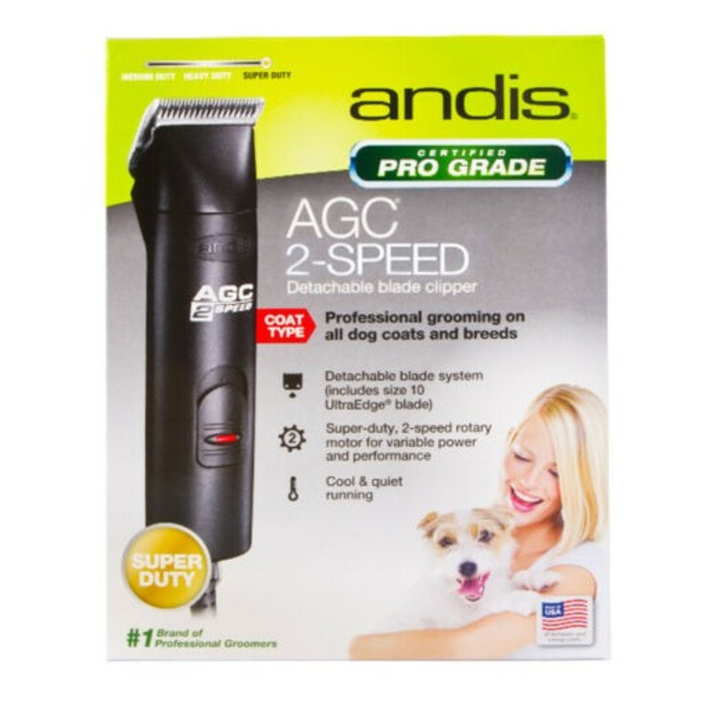 Andis Pro Clip AGC 2 Speed Super Duty Dog Clippers