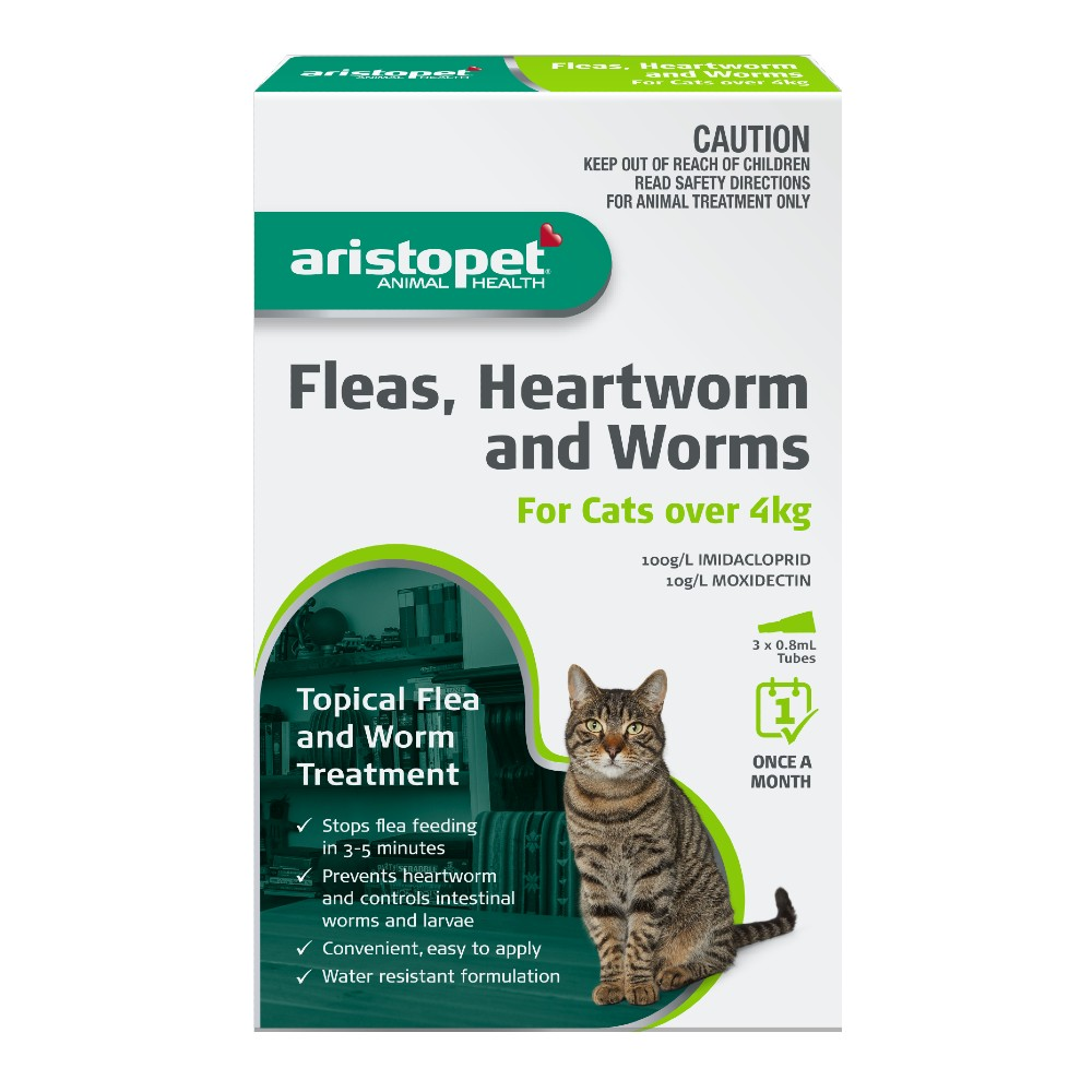 Aristopet Spot-on Treatment for Cats over 4kg