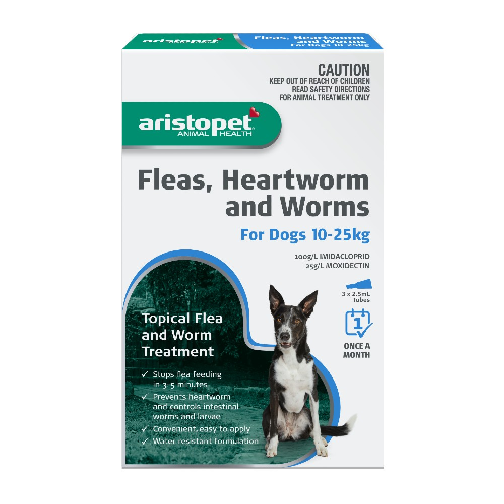Aristopet Spot-on Treatment for Dogs 10-25kg