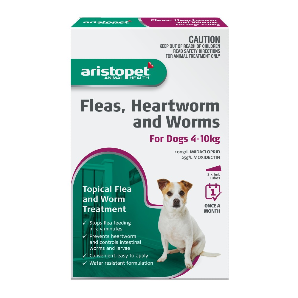 Aristopet Spot-on Treatment for Dogs 4-10kg