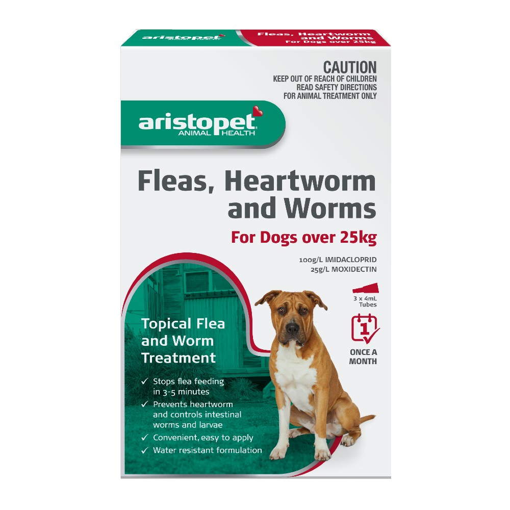 Aristopet Spot-on Treatment for Dogs over 25kg