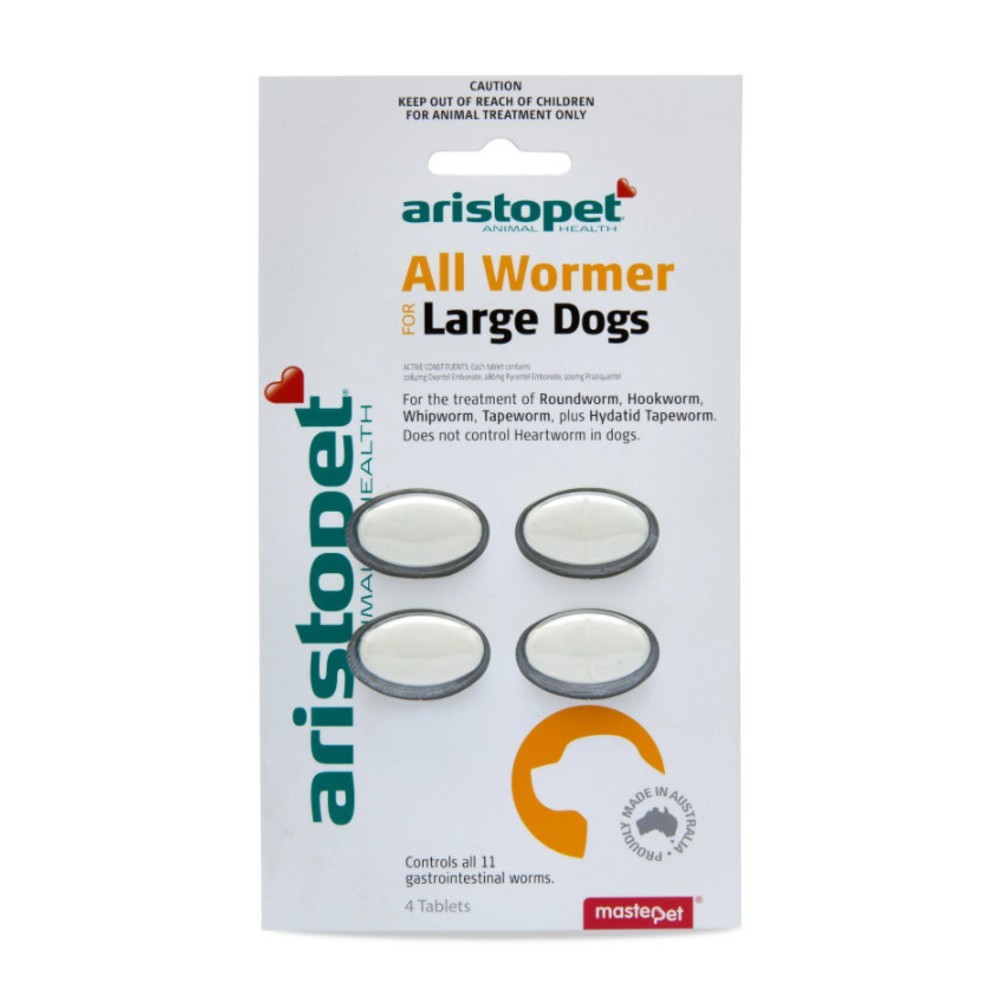 Aristopet All Wormer Large Dogs
