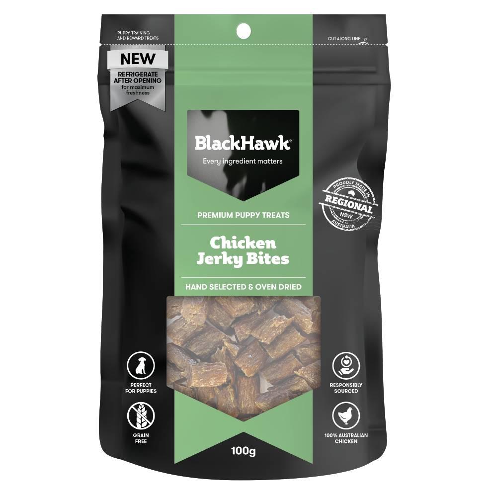Black Hawk Puppy Chicken Jerky Bites
