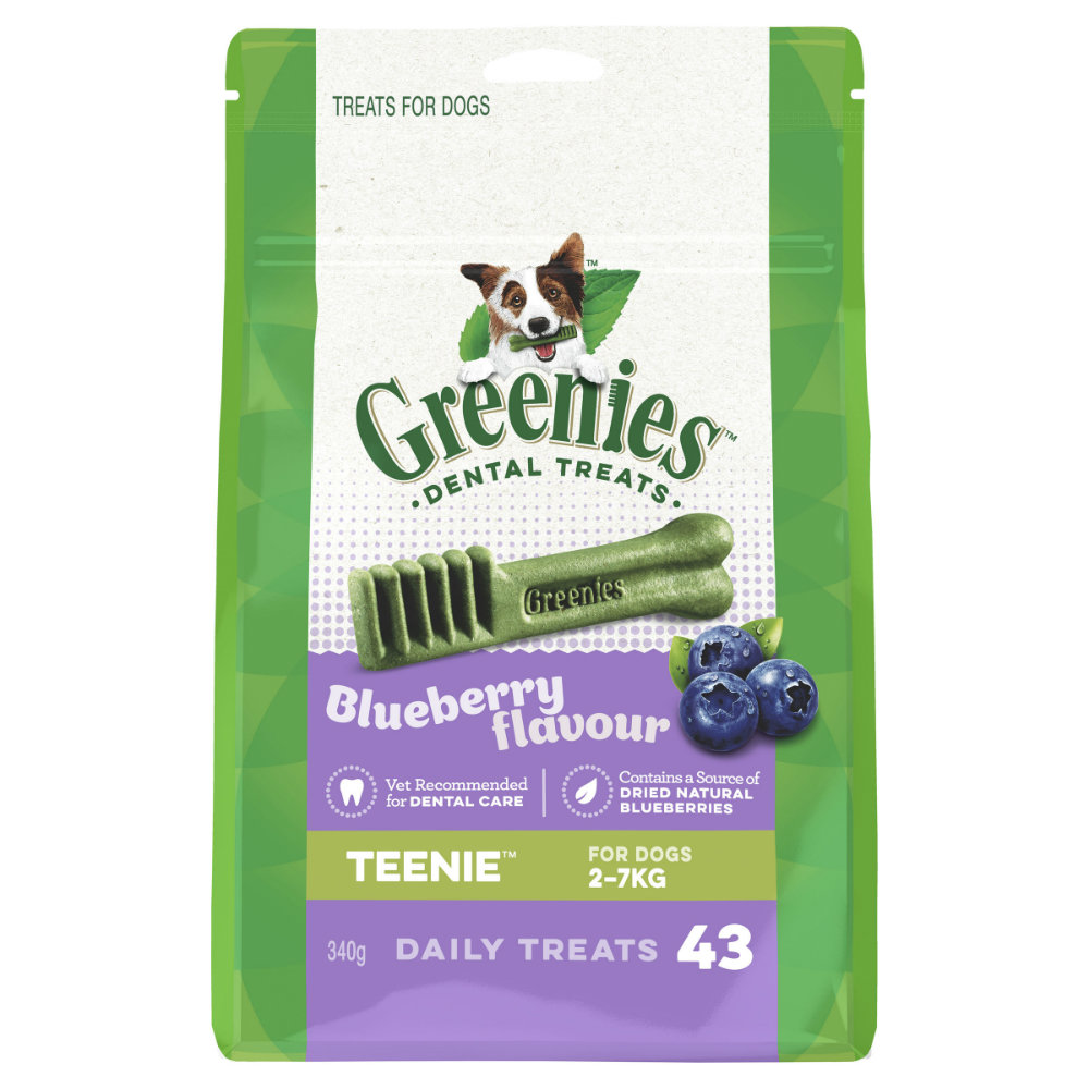 Greenies Dental Treat Blueberry Teenie
