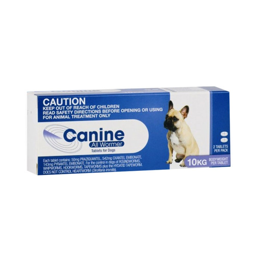 Canine All Wormer Up to 10kg