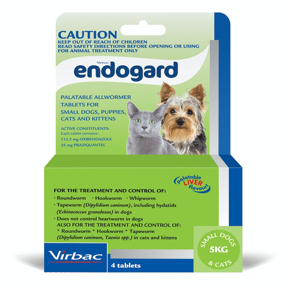 Endogard Small Dogs and Cats 5-10kg