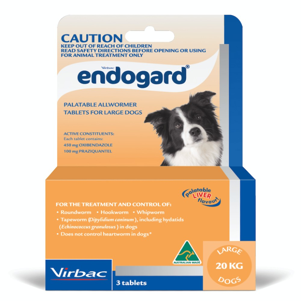 Endogard Large Dogs 20kg+