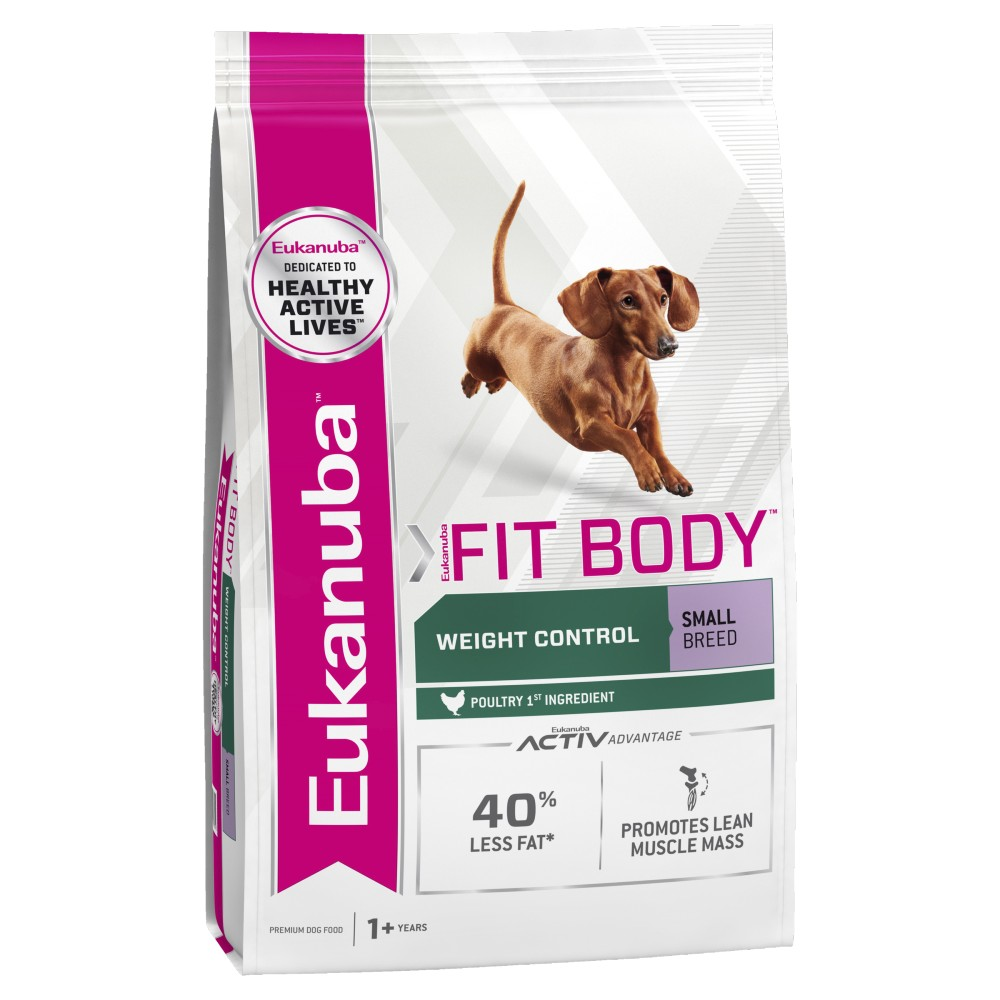 Eukanuba Small Breed Fit Body Weight Control