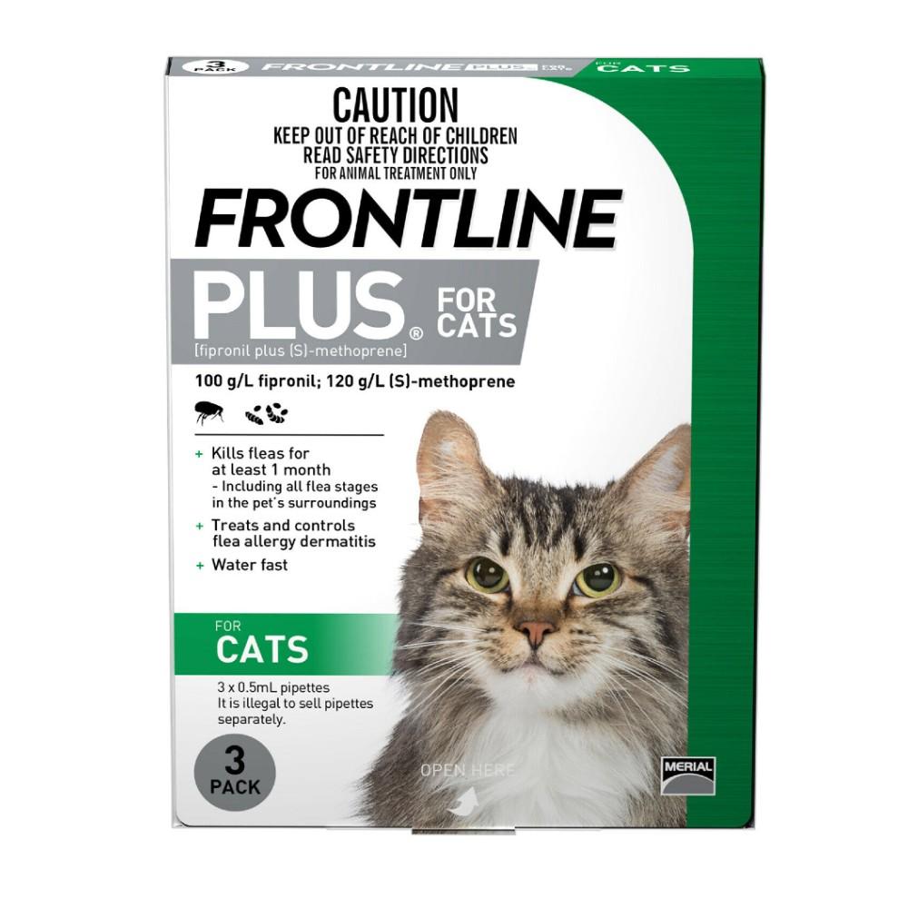 Frontline Plus Cat Green