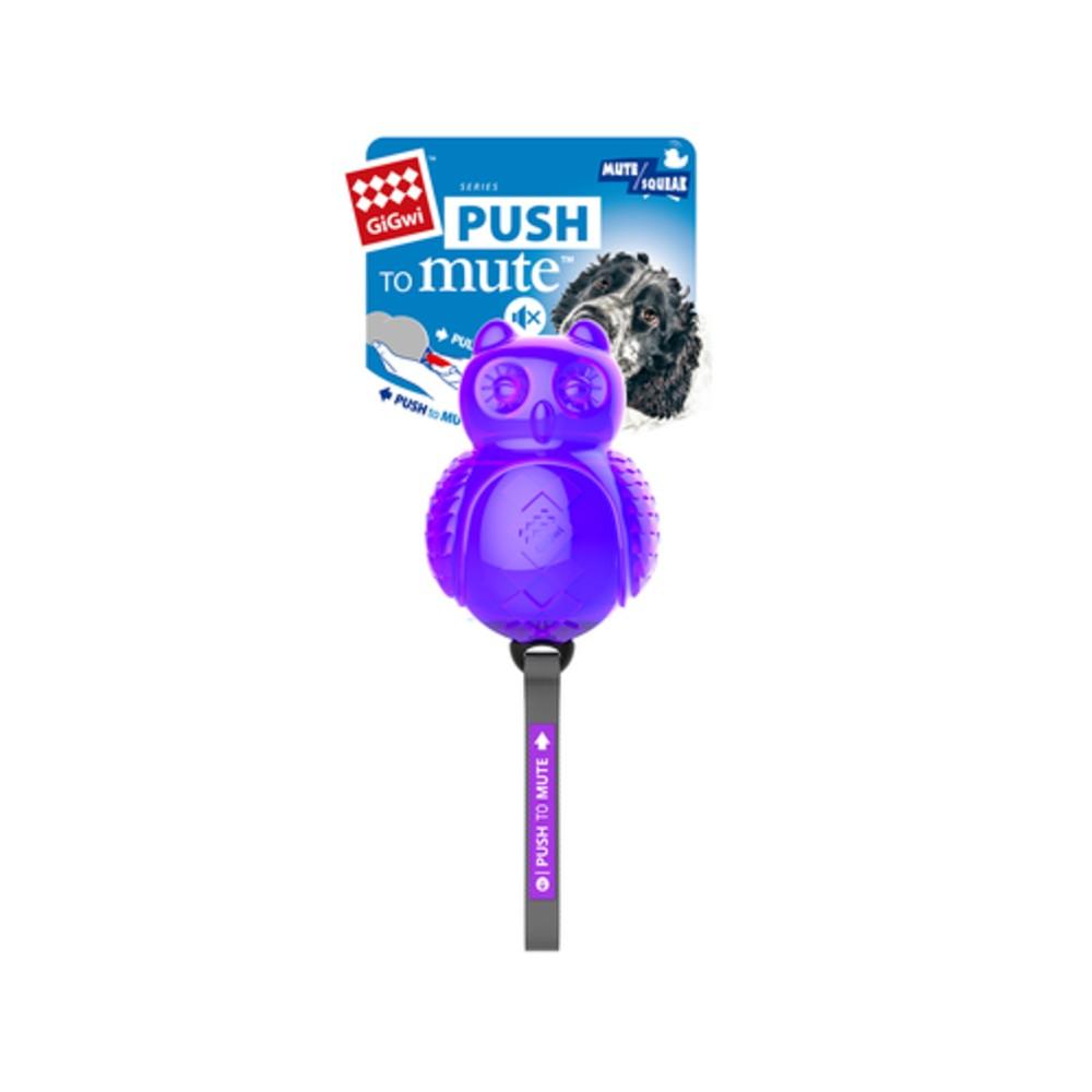 GiGwi Push To Mute Owl