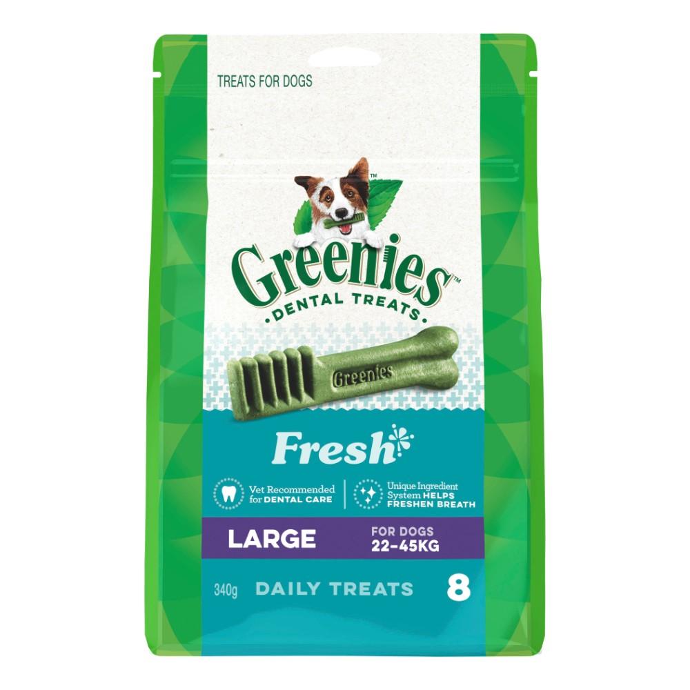 Greenies Fresh Mint Dental Treats Large