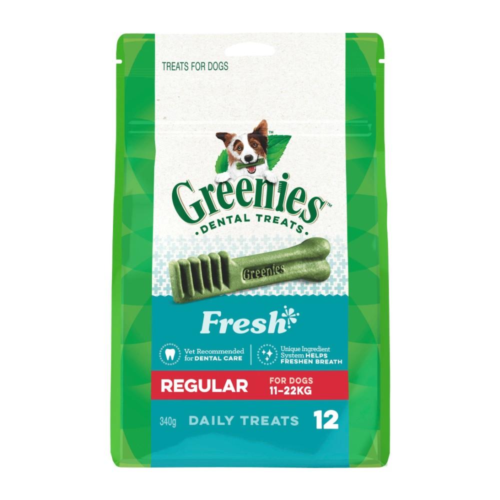 Greenies Fresh Mint Dental Treats Regular