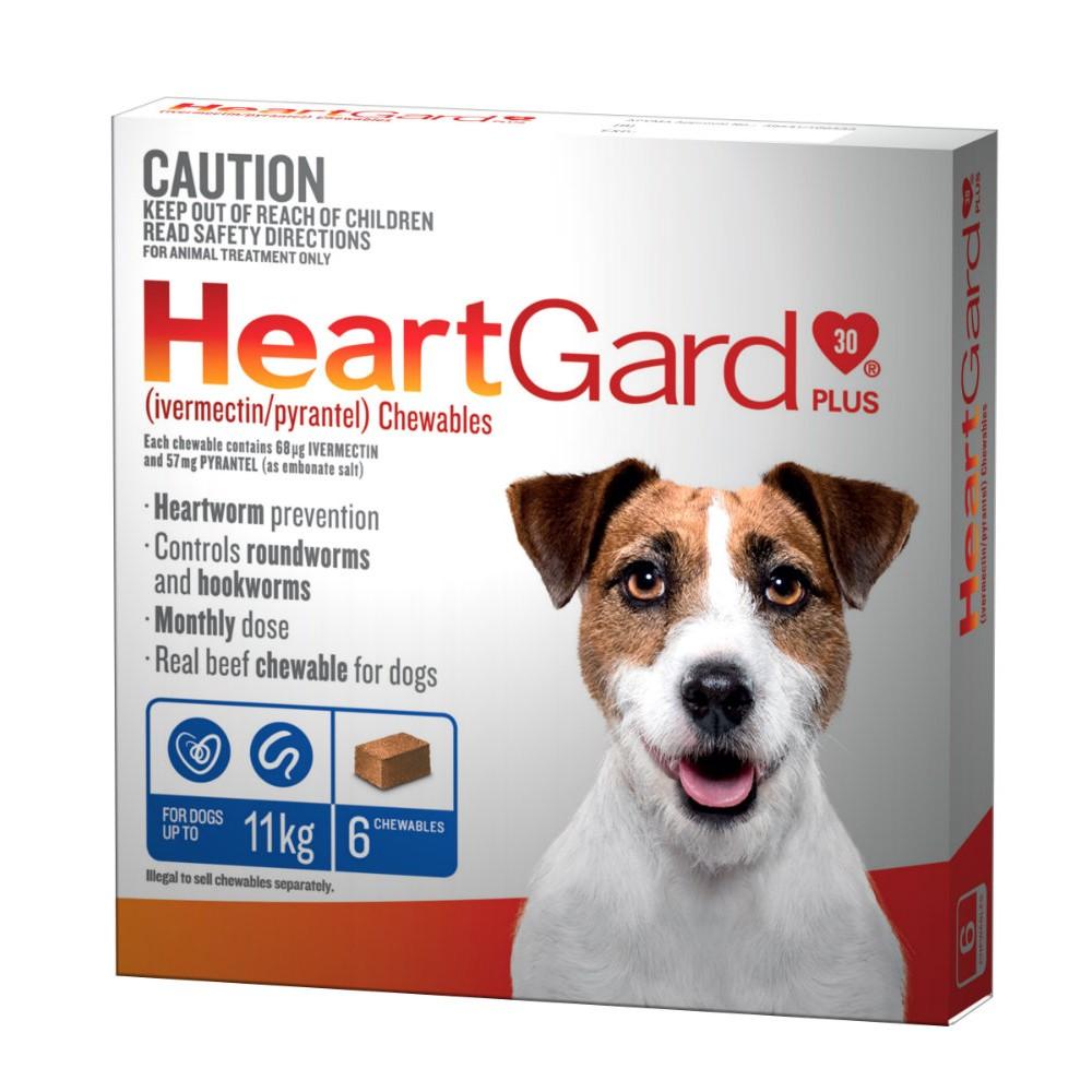 Heartgard Plus 0-11kg Small Blue