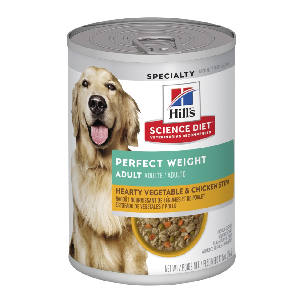 Hills Science Diet Adult Perfect Weight Chicken & Vegetable Canned Dog Food
