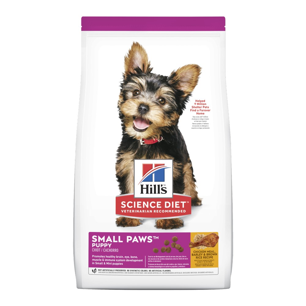 Hills Science Diet Puppy Small Paws Dry Dog Food