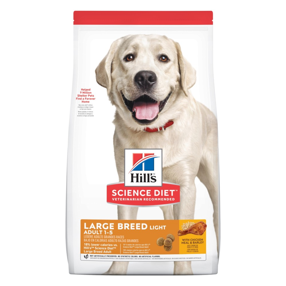 Hills Science Diet Adult Large Breed Light Dry Dog Food