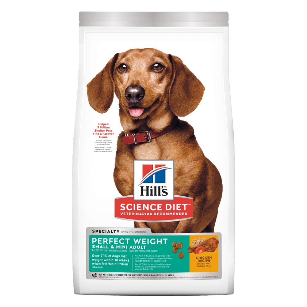 Hills Science Diet Adult Small and Mini Perfect Weight Dry Dog Food