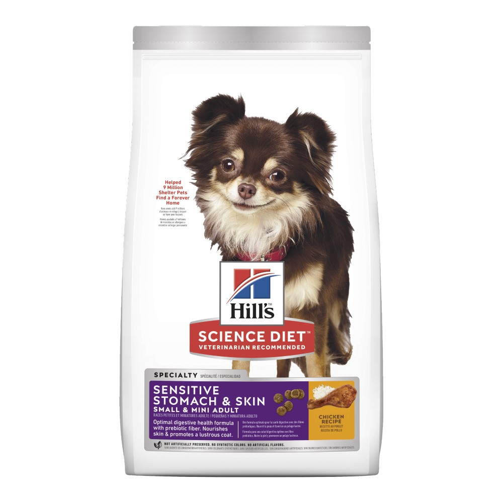 Hills Science Diet Adult Small And Mini Sensitive Stomach and Skin Dry Dog Food