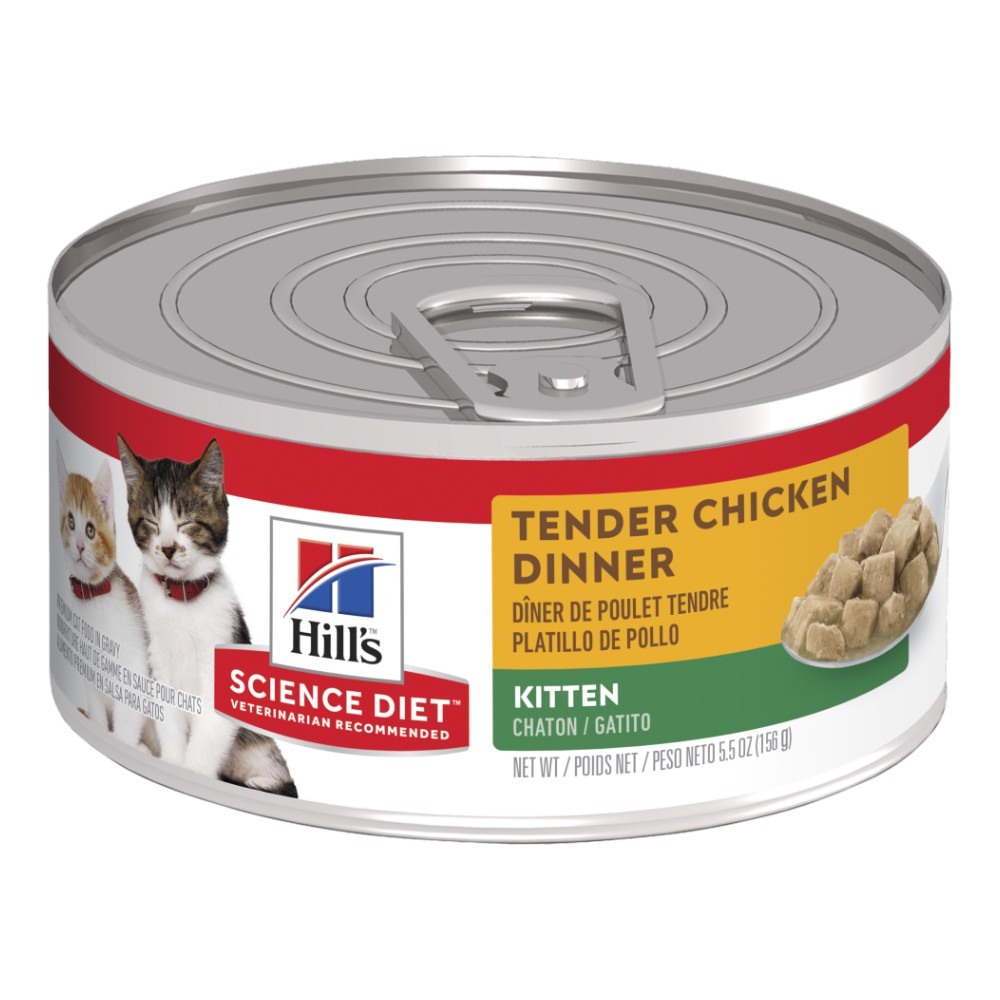 Hills Science Diet Kitten Tender Chicken Dinner Canned Food