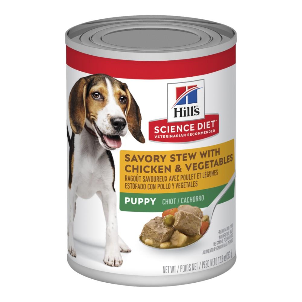 Hills Science Diet Puppy Savory Stew Chicken Canned Food