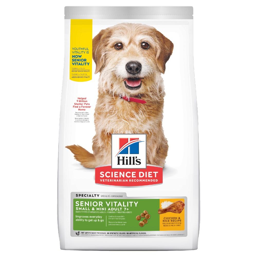 Hills Science Diet Adult 7+ Senior Vitality Small and Mini Dry Dog Food