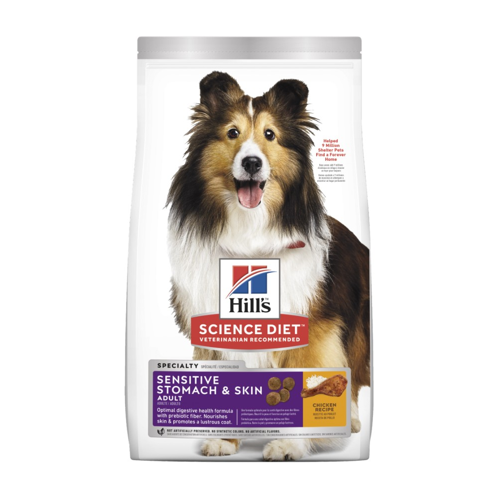 Hills Science Diet Adult Sensitive Stomach and Skin Dry Dog Food