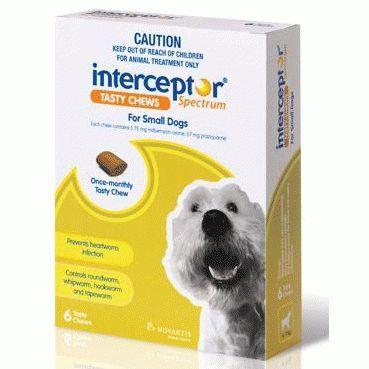 Interceptor Spectrum Chews Small 4-11kg Green