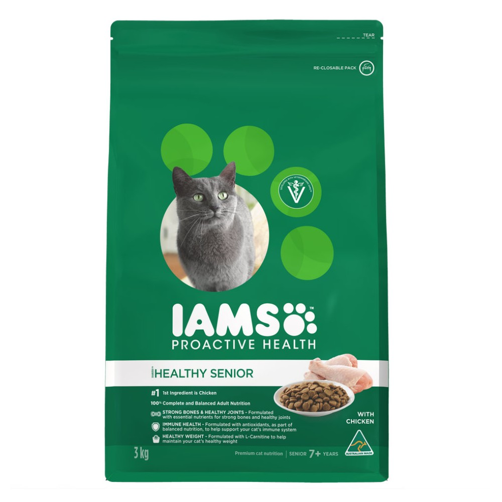 Iams Healthy Senior 7+ with Chicken