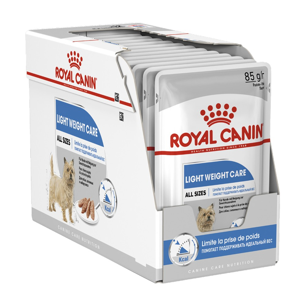 Royal Canin Light Weight Care Loaf Pouches