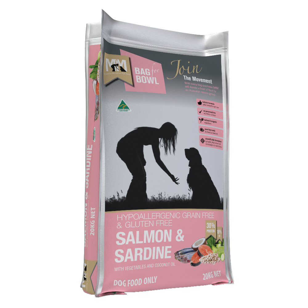 Meals for Mutts Grain Free Salmon and Sardine