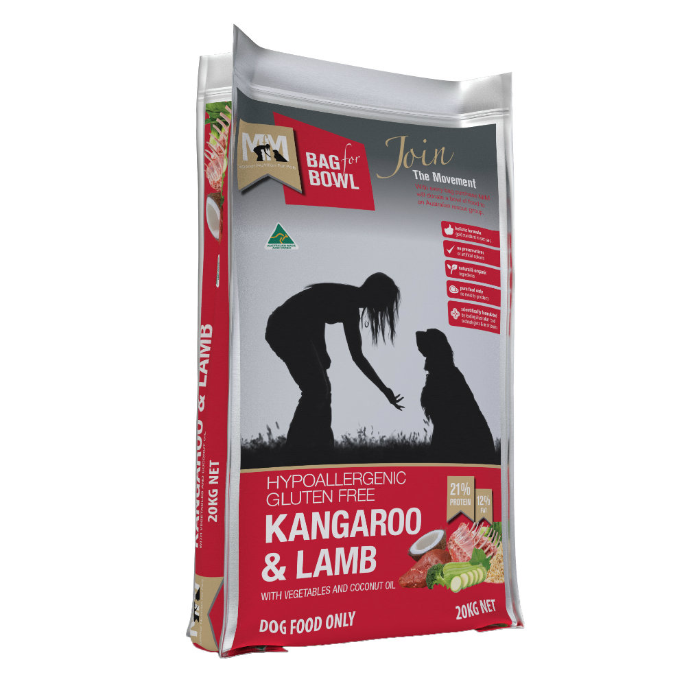 Meals for Mutts Kangaroo and Lamb