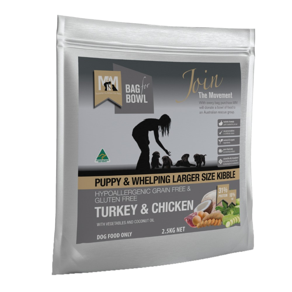 Meals for Mutts Puppy Grain Free Turkey and Chicken