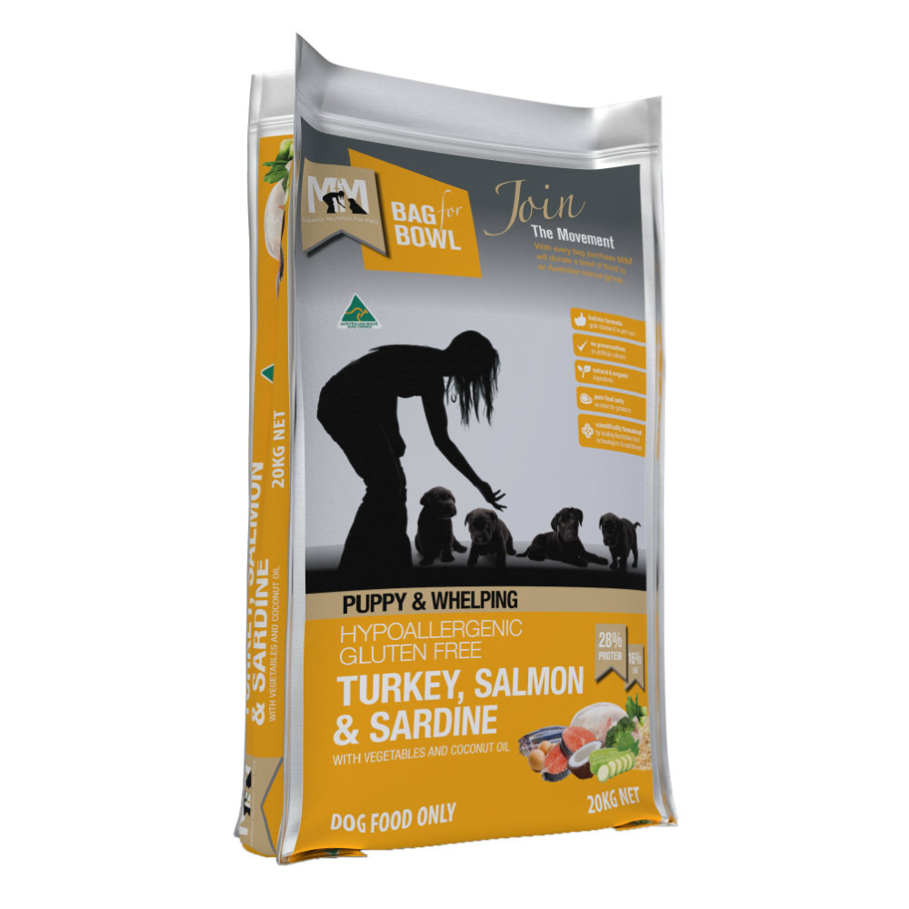Meals for Mutts Puppy Turkey, Salmon and Sardine