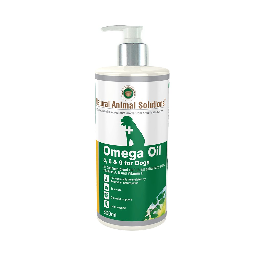 Natural Animal Solutions Omega Oil for Dogs and Horses