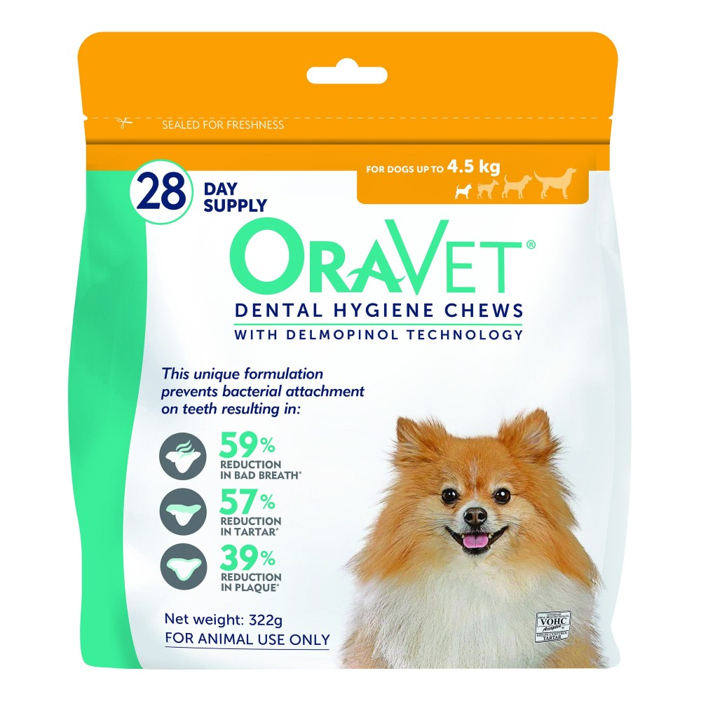 Oravet Dental Chews Extra Small up to 4.5kg