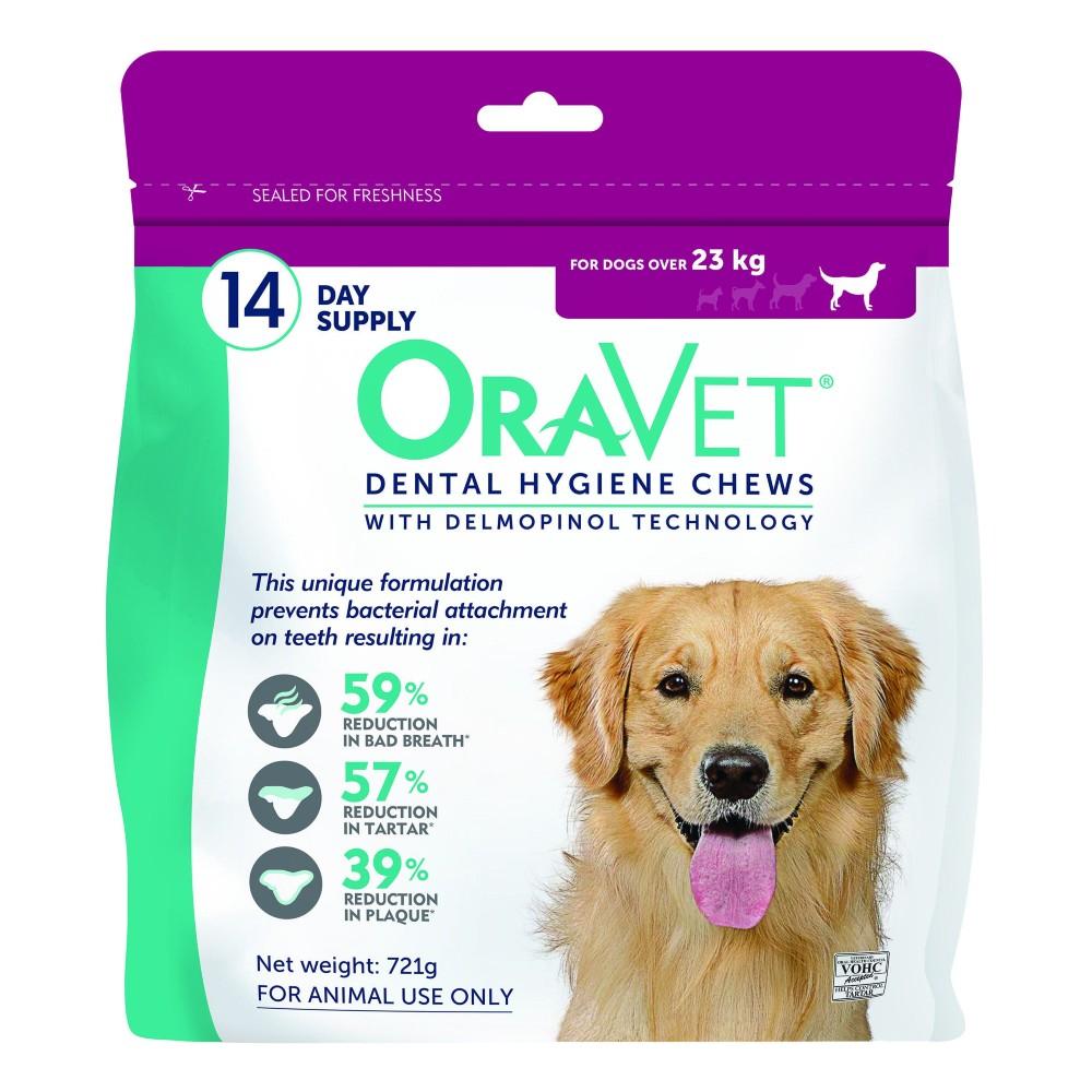 Oravet Dental Chews Large over 23kg