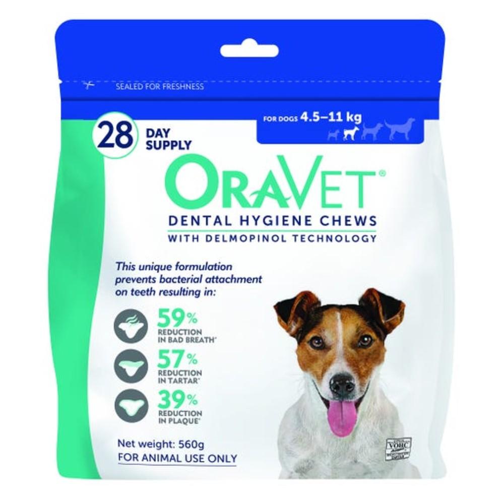 Oravet Dental Chews Small 4.5-11kg