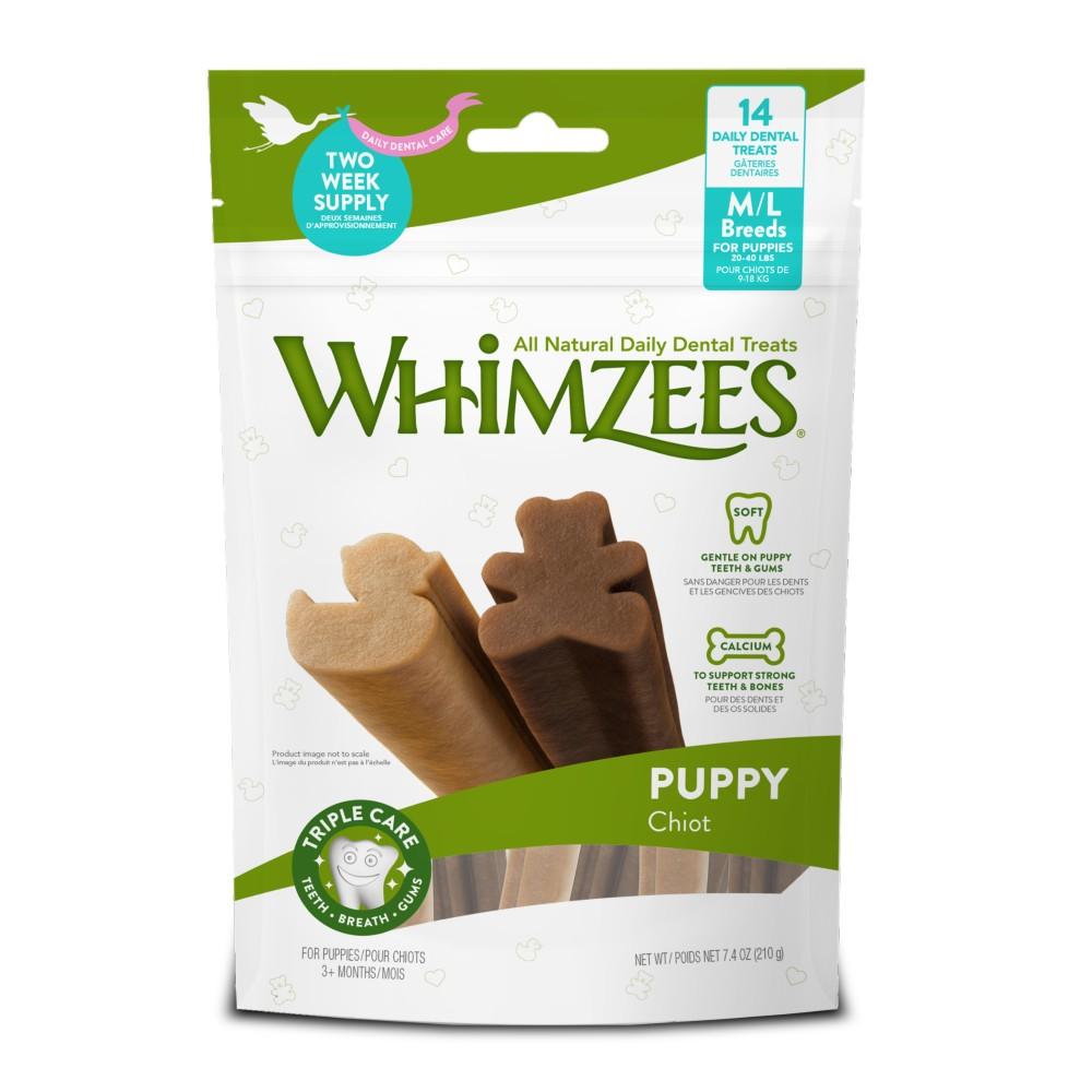 Whimzees Puppy Medium/Large Breed Dental Treats
