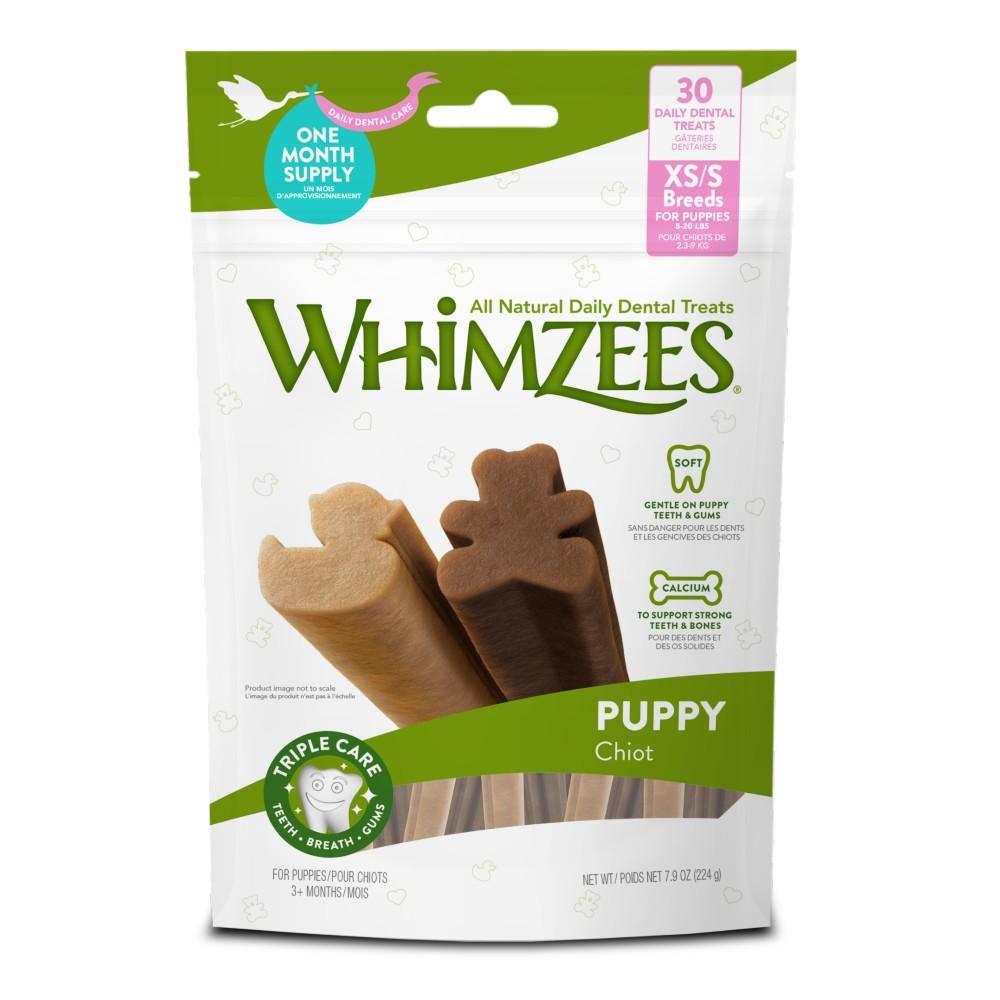Whimzees Puppy Extra Small/Small Breed Dental Treats