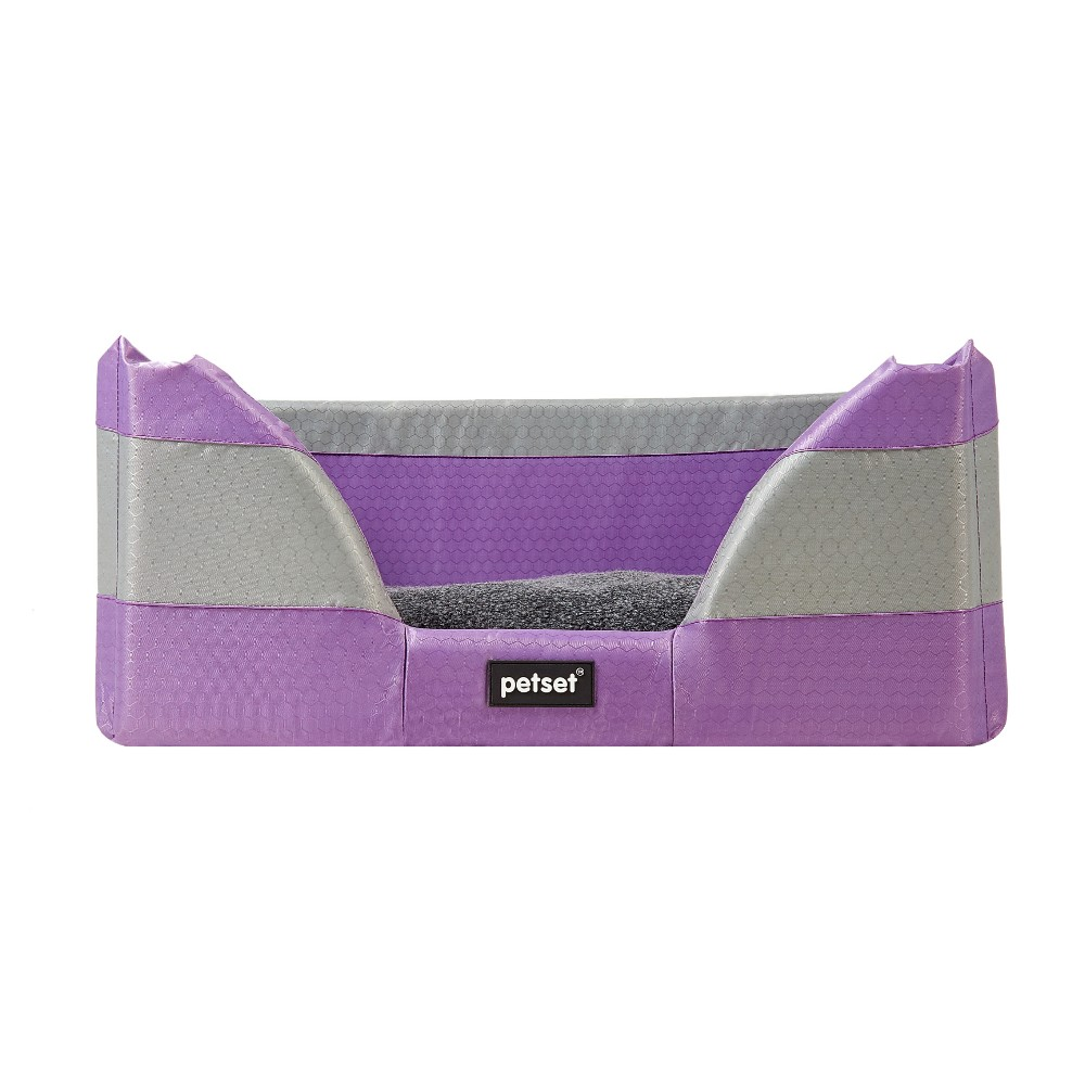 Petset Walled Bed Purple