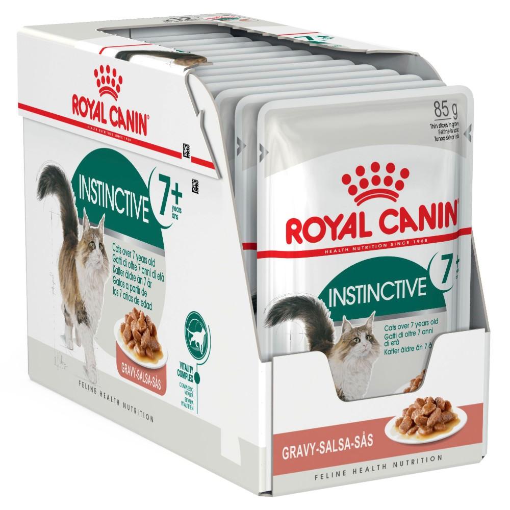 Royal Canin Feline Instinctive 7+ Years in Gravy