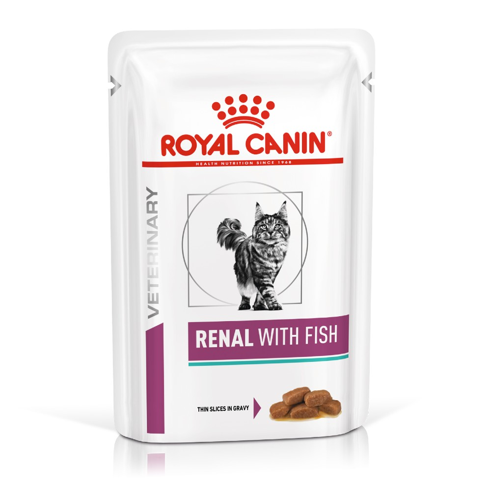 Royal Canin Veterinary Diet Feline Renal Fish Pouches