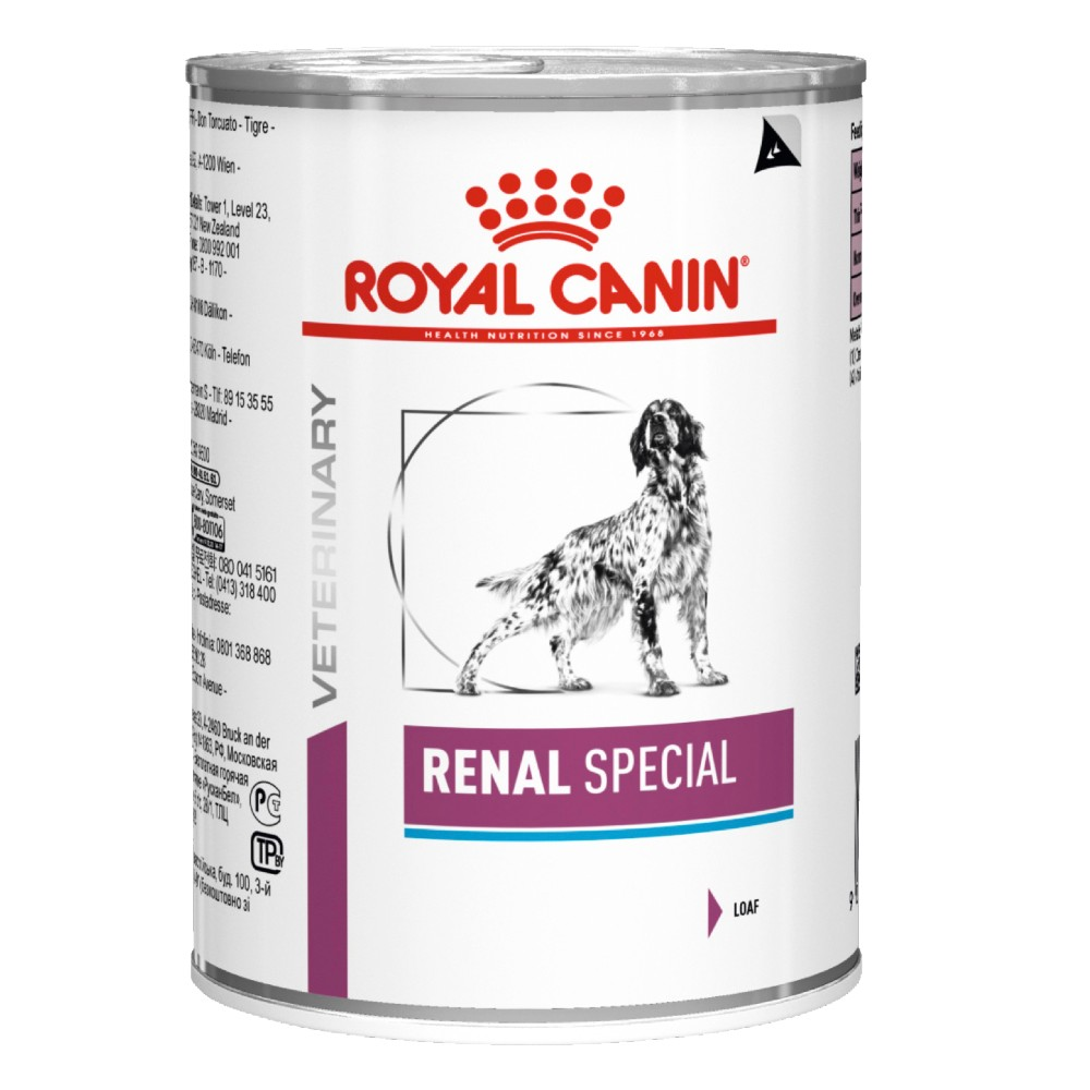 Royal Canin Veterinary Diet Canine Renal Special Cans